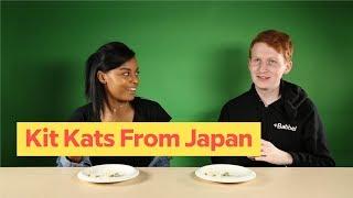 Babbel Tries: Kit Kats From Japan