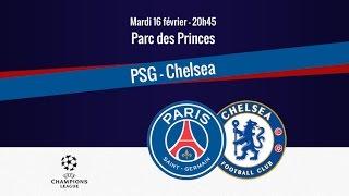 Paris Saint-Germain - Chelsea FC [FIFA 16]   C1 League 2015-2016 (1/8ème de Finale)   CPU Vs. CPU