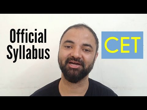 CET Official Syllabus Out. MAH-MBA/ MMS CET 2019