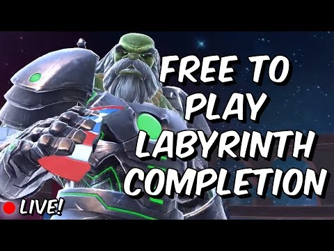 Free To Play Labyrinth Of Legends Completion - Easy Path - Marvel Contest Of Champions