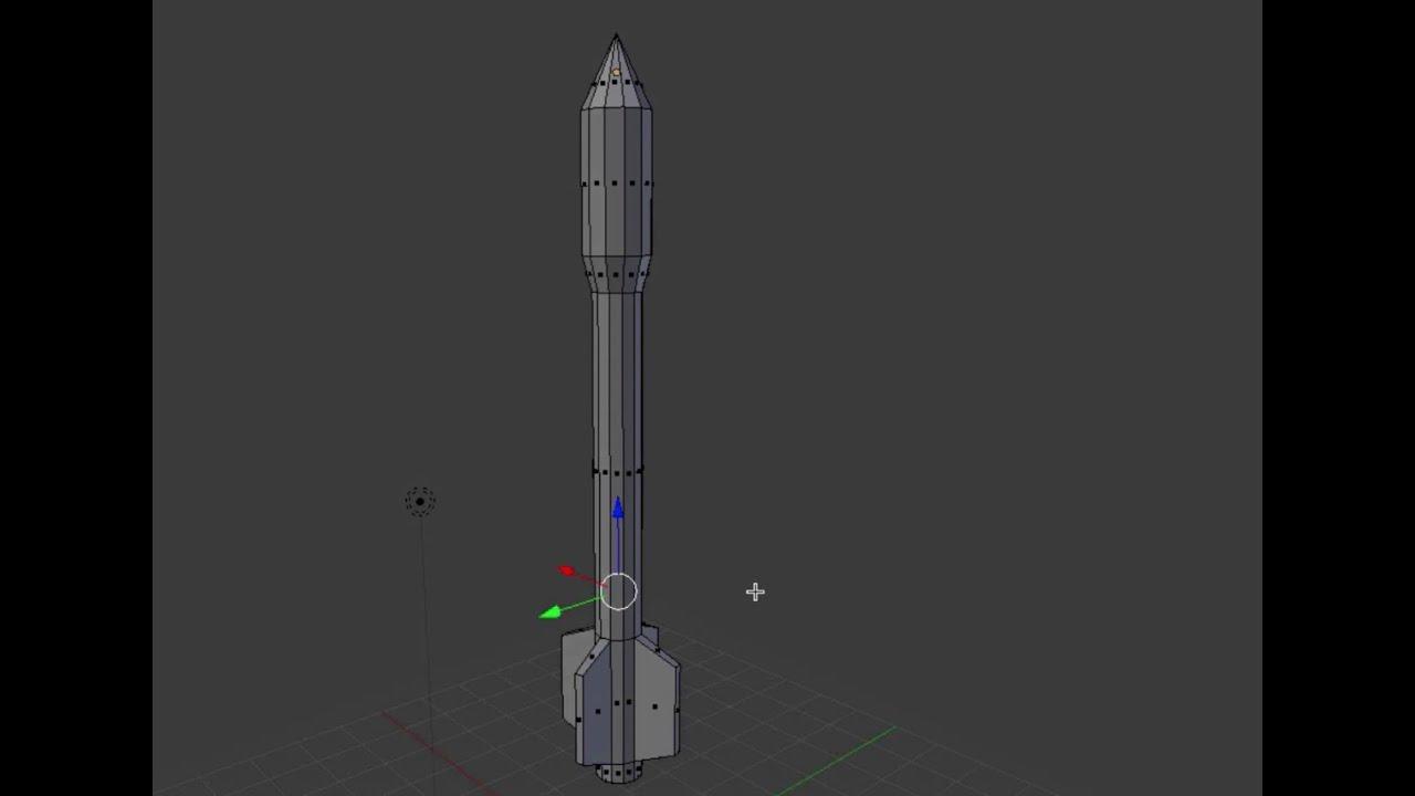Blender Tutorial - Missile or Rocket - Modeling [How To ...