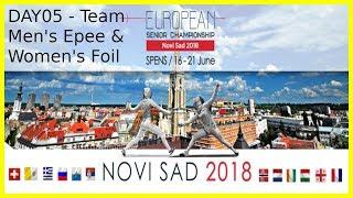 European Championships 2018 Novi Sad Day05 - Piste Yellow thumbnail