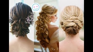 Top 15 Amazing Hair Transformation - Bridal Hairstyles Tutorial