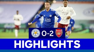 Foxes Exit Carabao Cup in Third Round | Leicester City 0 Arsenal 2 | 2020/21