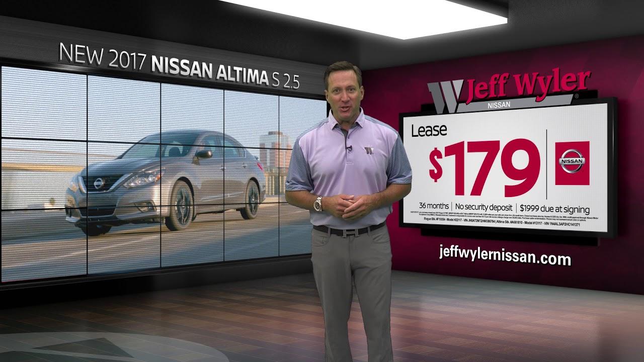Jeff Wyler Nissan >> Jeff Wyler Nissan September 2017 Specials Rogue Altima