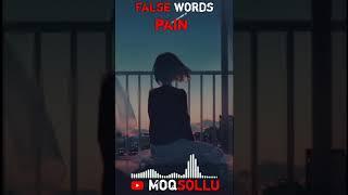 False words pain dialogue WhatsApp status in tamil