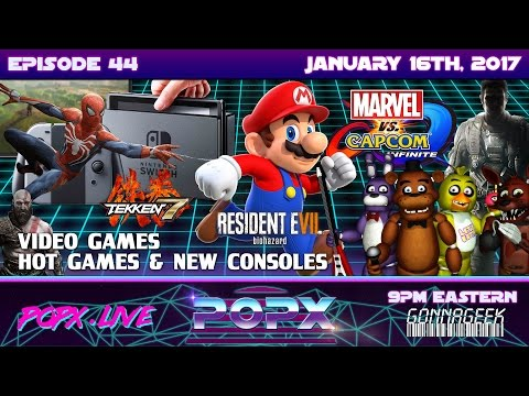 Episode 44 - Hot New Video Games and Upcoming Consoles