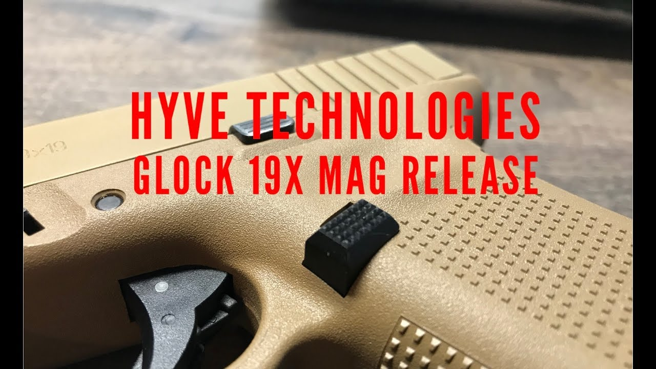 Quick Install: Hyve Technologies Glock 19x / Gen 5 Extended Mag Release