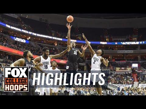 Butler vs Georgetown | Highlights | FOX COLLEGE HOOPS