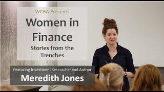 WCBA Presents Women in Finance with Meredith Jones