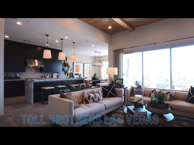 Summerlin Homes For Sale Luxury Single Story | Acadia Ridge Toll Brothers | Estella Home Tour $659k+