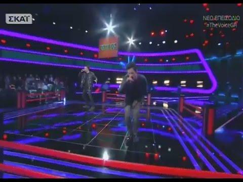 The Voice | Σπύρος Καίσσαρης vs Γιώργος Ματσιούλας | 2o Battle