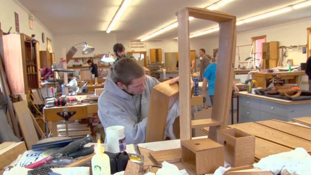 visit the center for furniture craftsmanship youtube. Black Bedroom Furniture Sets. Home Design Ideas