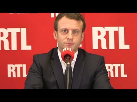 Emmanuel Macron, invité de RTL, vendredi 5 mai
