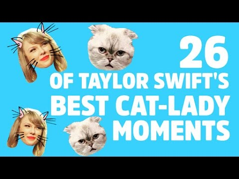 26 Times Taylor Swift Was the Cutest Cat Lady Ever Mp3