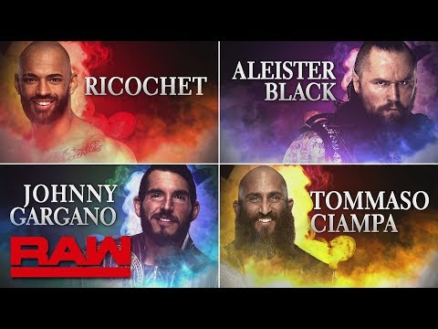 Johnny Gargano, Tommaso Ciampa, Ricochet and Aleister Black set to debut in WWE: Raw, Feb. 18, 2019