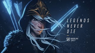 Legends Never Die Ft Against The Current Worlds 2017 League Of Legends