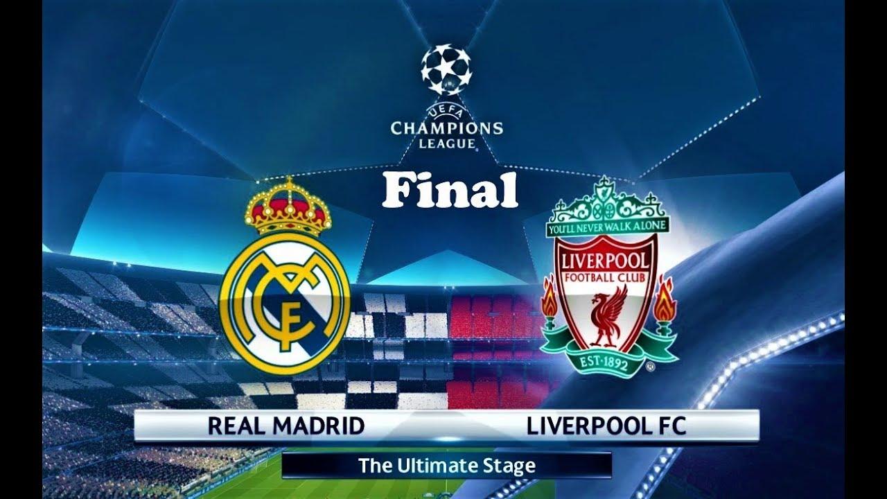 PES 2018 | Real Madrid vs Liverpool | Final UEFA Champions League