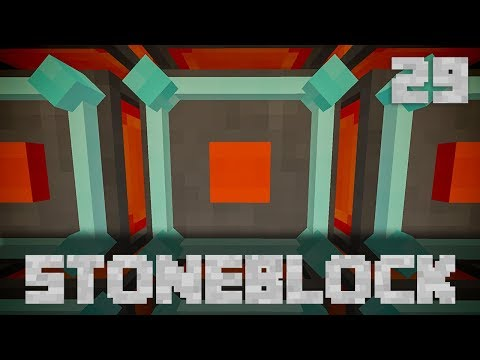 StoneBlock Modpack Supporter Server Ep. 29 Max Power + Draconic Fusion Crafting Injectors