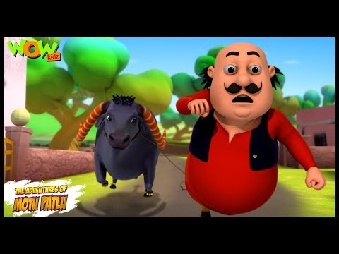 Icchadhari Bhains Motu Patlu In Hindi 3d Animation Cartoon As