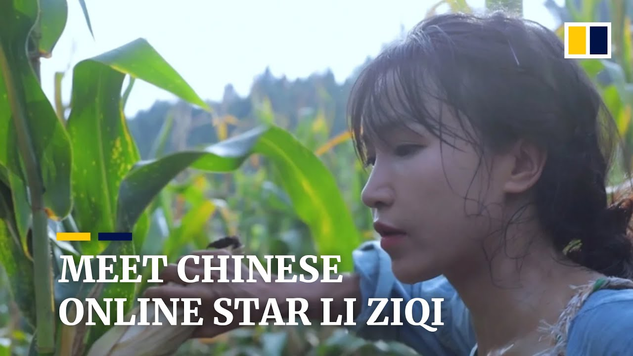 Li Ziqi - China's most well-known YouTuber with 14 Mio. subscribers worldwide.