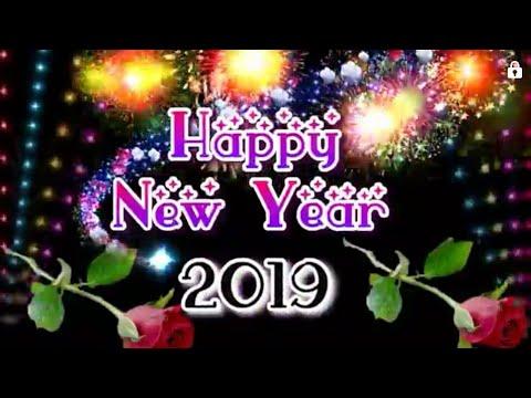 Happy New Year 2019    Happy New Year 2019 Mp4