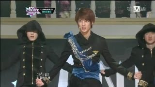 보이프렌드_야누스(JANUS by BOYFRIEND@Mcountdown 2012.11.08)