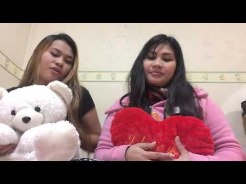 Mage hitha bindala philippine girls version with my sister shane