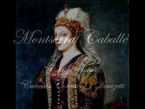 """Montserrat Caballe - """"Pieta, o Signor"""" """"Caterina Cornaro"""" Donizetti Live 1972"""