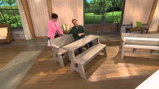 Convert-a-bench Ultra Ii Outdoor 2-in-1 Bench-to-table W/5 Year Lmw With Rick Domeier