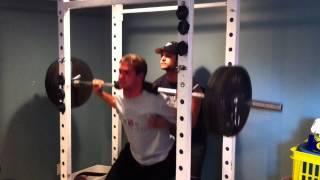 Kitchener Rangers Prospect - Adam Abu-ali 315lbs Squat, Hockey Training (broke Beauties Hockey)