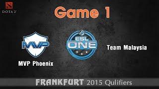 MVP Phoenix vs Team Malaysia game 1 - Dota 2 ESL One 2015
