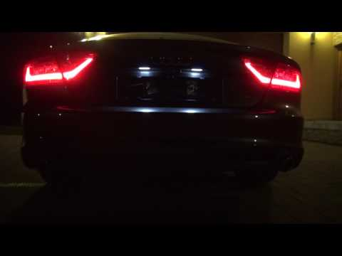 Audi A7 245PS with Bi-TDI exhaust + Kufatec Sound Booster (6 extra sound profile)