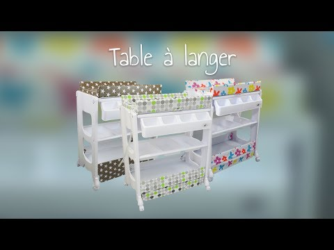Table à langer de Monsieur Bébé
