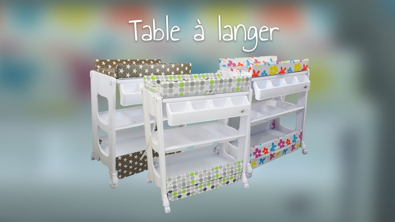 Table A Langer De Monsieur Bebe Youtube