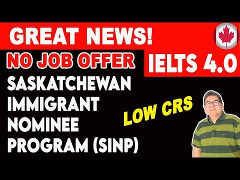 🔴 Occupation In-Demand Stream I Saskatchewan Immigrant Nominee Program SINP 2020 I Canada PR