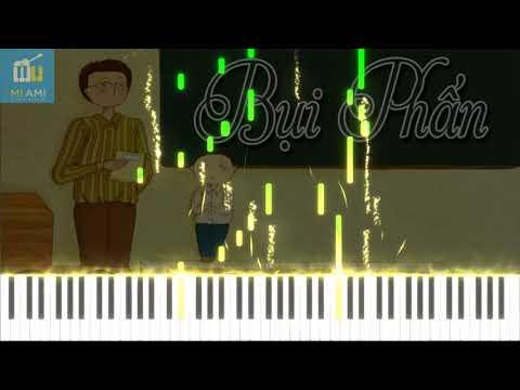 Bụi Phấn - Hướng Dẫn Chơi Piano Nhạc Thiếu Nhi