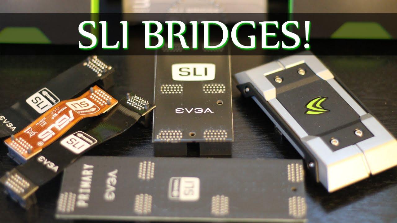"GAMING Video Card New NVIDIA SLI 2/"" Rigid Bridge Connector GPU"