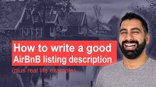 Gambar cover How to write a good AirBnB listing description (plus real life example)