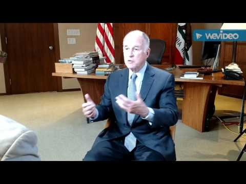 KFBK's Ryan Harris Sits Down With Governor Jerry Brown Ahead Of His China Trip 5-31-2017