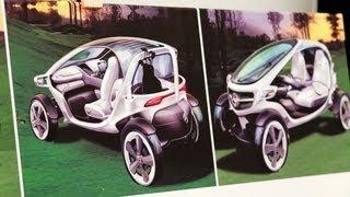 Visionary golf cart - Mercedes-Benz original thumbnail