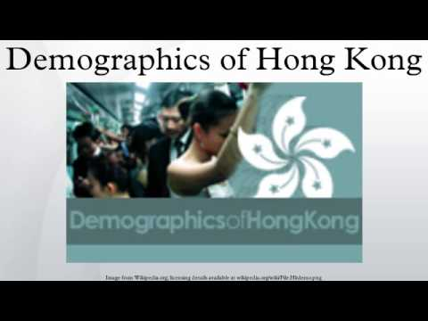 Demographics of Hong Kong