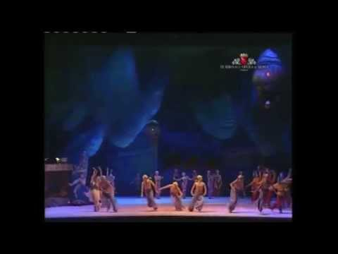 Shéhérazade by Fokine Irma Nioradze Vito Mazzeo Ballet Russes Festival Teatro dell'Opera di Roma