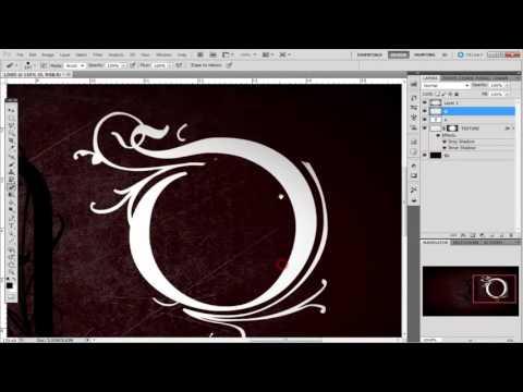 Создание логотипов в фотошопе
