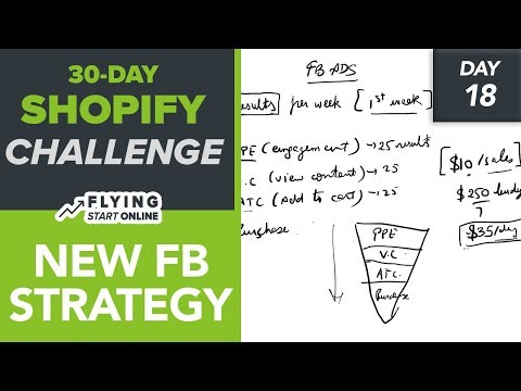 STOP LOSING MONEY ON FB ADS! SHOPIFY STORE OWNERS, TRY THIS - (Day 18/30) #Bizathon3