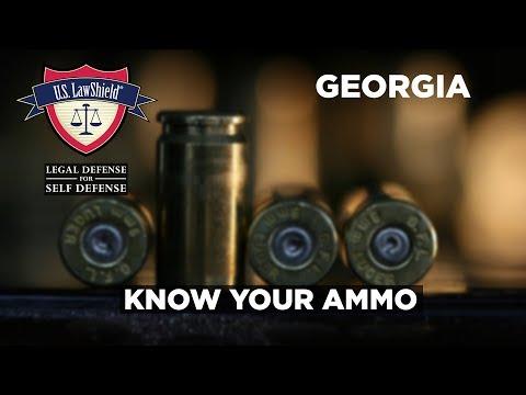 Know Your Ammo - Georgia