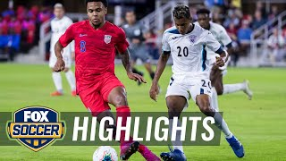 90 in 90: United States vs Cuba | 2019 CONCACAF Nations League Highlights