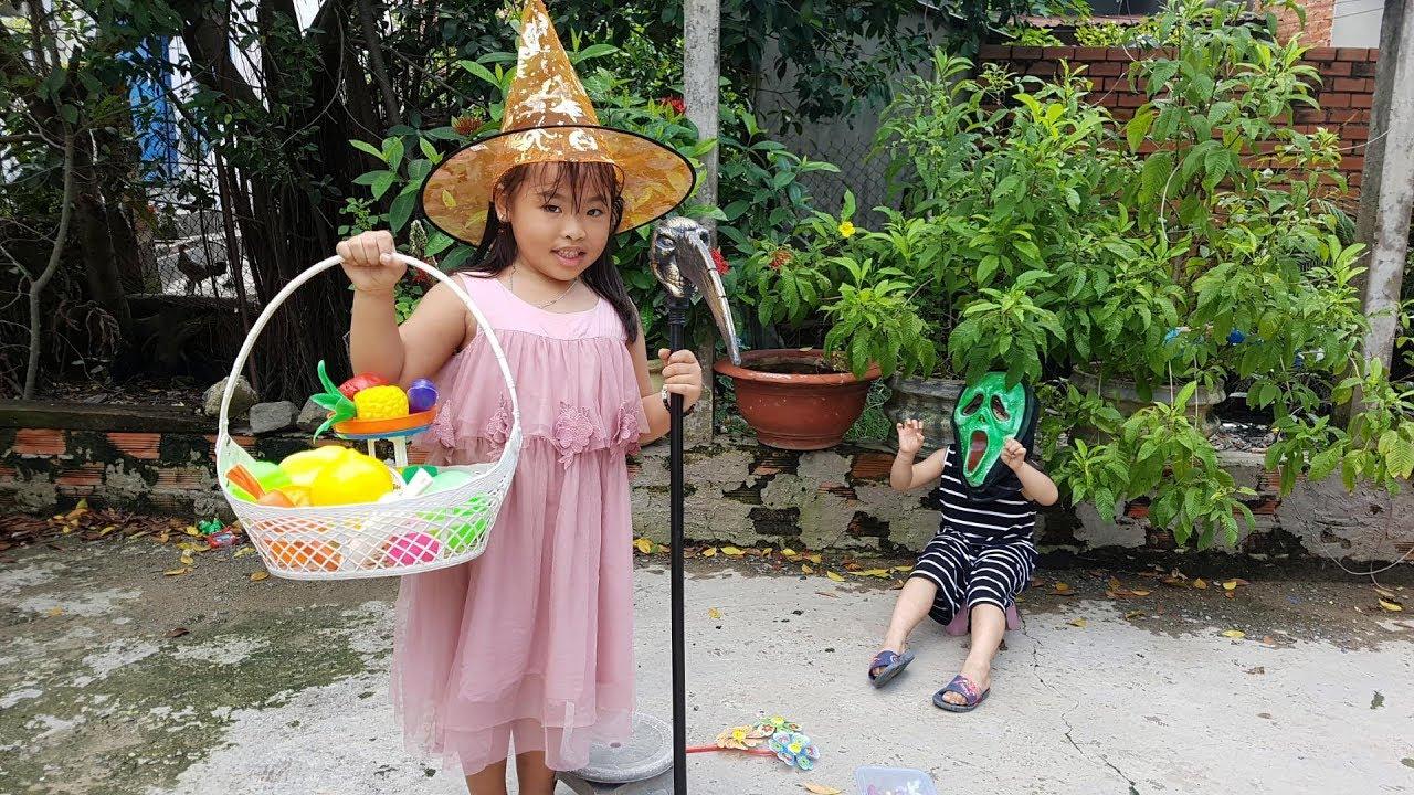 Trò Chơi Bé Vui Trái Cây Rau Củ ❤ ChiChi ToysReview TV ❤ Đồ Chơi Trẻ Em Baby Doli Fun Song