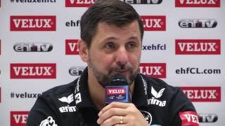 Pressekonferenz  Champions League ,  SG - Kadetten Schaffhausen