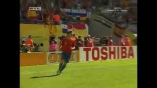 Fernando Torres gólja Ukrajna ellen - 2006 Világbajnokság